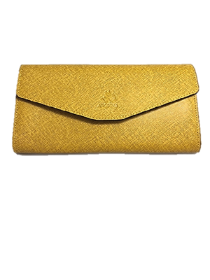 Large wallet Yellow